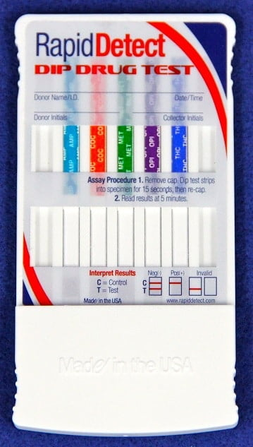 Rapid Detect Dip Drug Test