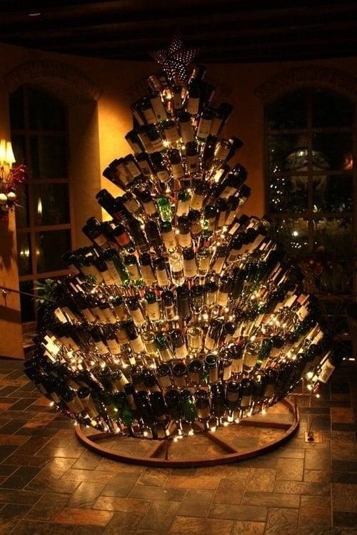 Alcohol Christmas Tree