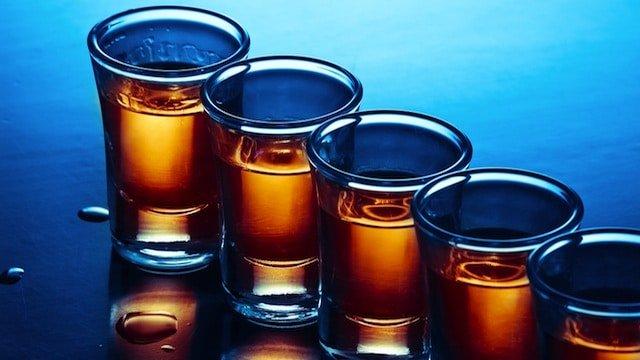 Binge Drinking Shots