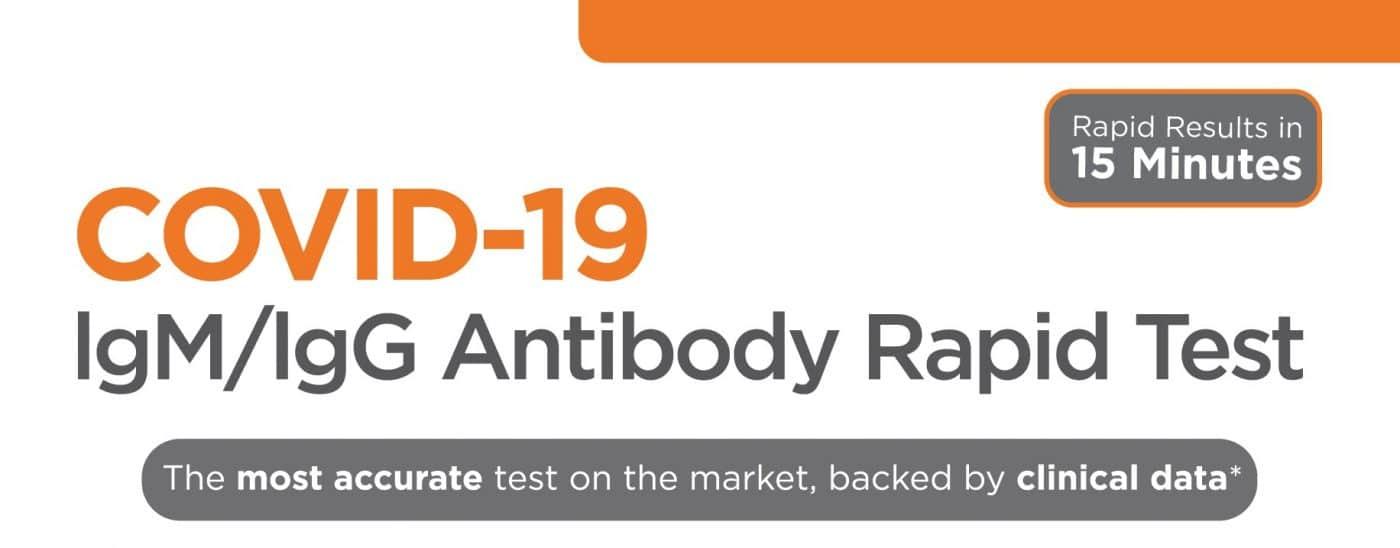 Coronavirus COVID-19 Rapid Detect Test Kit Info