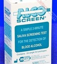 Alco-Screen Box Of 24 Test Strips