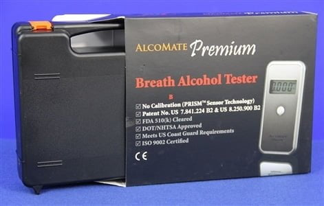 AlcoMate Premium Kit Product Box