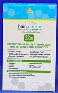 HairConfirm Perscription Dugs 90 Day Hair Drug Test