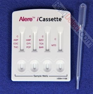 iCassette Multi-Drug Test