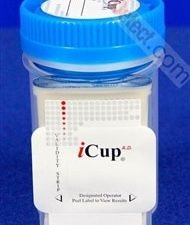 iCup 10 Panel Drug Test with Built-In Adulterant Test