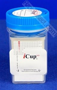 iCup 10 Panel Drug Test With Adulterant Check