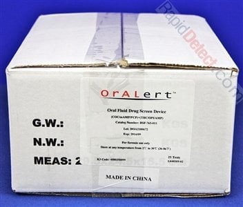Oralert 6 Panel Product Box