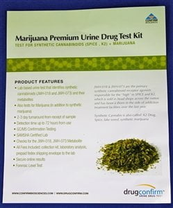 Marijuana Premium Urine Drug Test Kit